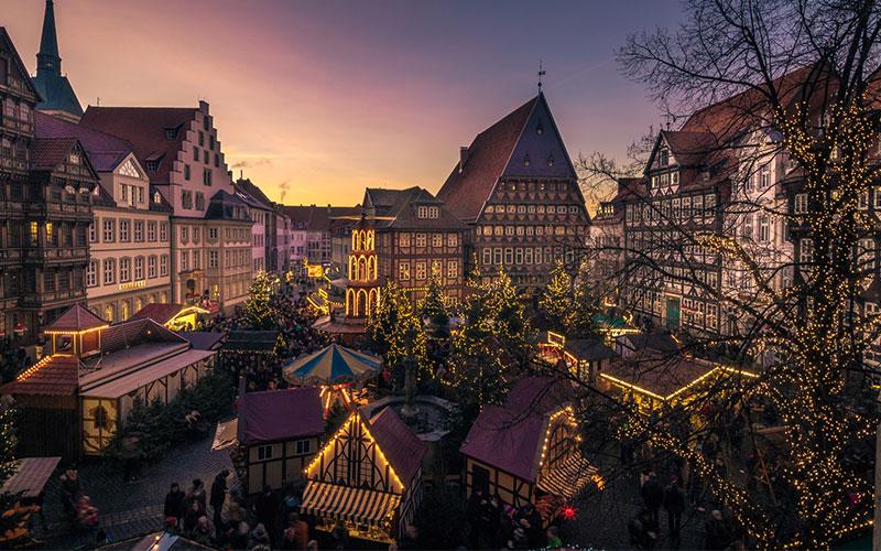 Hildesheimer Weihnachtsmarkt öffnet